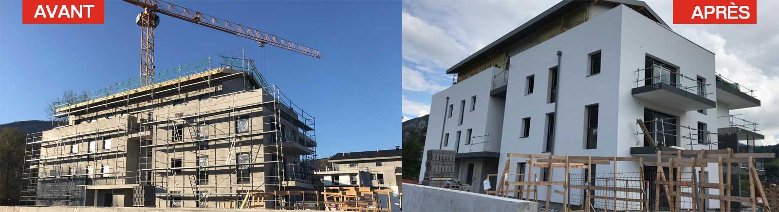avant-apres03 ISOLATION EXTÉRIEURE à Annecy en Haute-Savoie